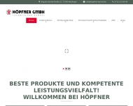 Bild Webseite Höpfner Reutlingen