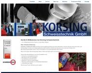 Bild KORSING Schweisstechnik GmbH