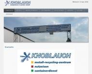Bild Carl Knoblauch GmbH & Co. KG Schrottrecycling