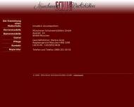 Bild Webseite Münchener Schuhwerkstätten München