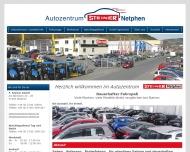Bild Webseite Steiner F. Netphen