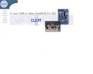 Bild Cleff A. Sohn GmbH & Co. J. vom Schrauben- u. MutternFbr.