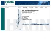 Bild Webseite Hahn-Schornsteintechnik München