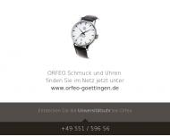 Bild Webseite Orfeo-Schmuck Inh. Reinhard Schröder Göttingen