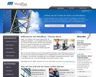 Bild Webseite Baum Magdeburg