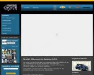 Bild Webseite Autohaus Georg von Opel Frankfurt