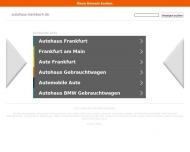 Bild Webseite Autohaus Renault Steinbach Frankfurt