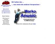 Bild Webseite Marko Anusic Frankfurt