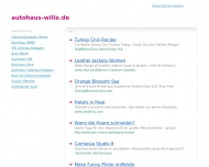 Bild Webseite Autohaus Wolfgang Wille Frankfurt