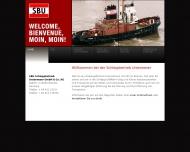 Website SBU-Schleppbetrieb Unterweser