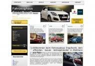 Website Engelhardt Fahrzeughaus