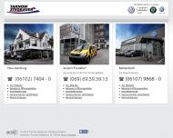 Bild Webseite Autohaus tarnow stegbauer Frankfurt
