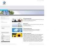 Website VOLKSWAGEN Retail Rhein-Main