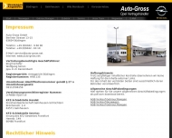 Bild Webseite Auto Groß Büdingen