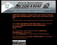 Bild Webseite Schramm Mazda-Vertretung u. Kfz-Werkstatt Frankfurt