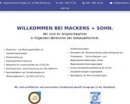Bild Mackens & Sohn GmbH Sanitärinstallation und Heizungsbau