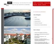 Website ADG Abdichtung  und Dachtechnik