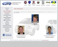 Website Autohaus Lutz