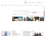 Bild Webseite Hendricks Düsseldorf