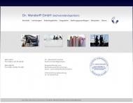Bild Webseite Dr. Wendorff Köln