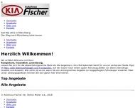 Bild Webseite Autohaus Fischer u.Co Gesellschaft Frankfurt