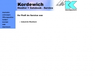 Bild Webseite Kordewich Werner Monitor-Fachservice u. Industrie-Monitore Monitorservice Reichenbach an der Fils