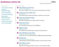 Website Autohaus Thomas Weiss