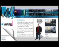 Website NÜROH-Rohrhandel