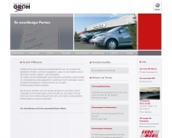 Bild Webseite Autohaus Groh Neuhofen