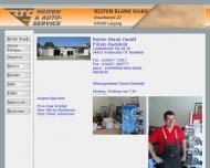 Website REIFEN - BLANK -