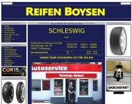 Website Reifendienst Boysen