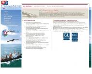 Website RF Reedereigemeinschaft Forschungsschiffahrt