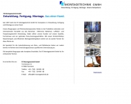 Website FE Montagetechnik