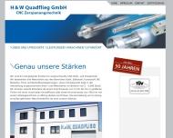 Bild Webseite H. & W. Quadflieg Aachen