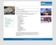 GEFA Ingenieure GmbH - Technische Gesamtplanungen Home