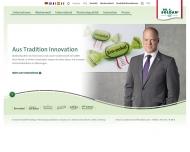 Bild Webseite Soldan Holding Bonbonspezialitäten Nürnberg