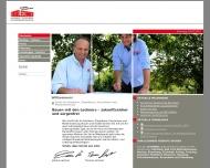 Bild Webseite  Buchbach