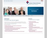 Website Nielsen Wiebe u. Partner Wirtschaftsprüfer , Steuerberater u. Rechtsanwältin