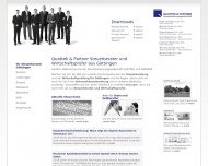 Bild Webseite EURATIO Prof. Dr. Ludewig & Quattek Göttingen