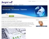 Bild Webseite Ast Jürgen Consulting Reutlingen