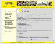 Website REHA-Verein Freiburg