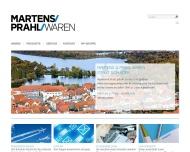 Bild Webseite  Waren (Müritz)