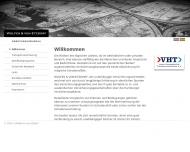 Bild Webseite Wolfes & von Etzdorf Assecuranzbureau Fruchthof Hamburg