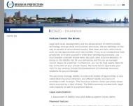 Bild Webseite PP Business Protection Hamburg