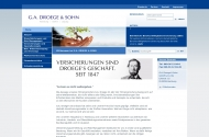 Bild Webseite Göritz Friedrich Th. Hamburg