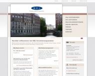 Bild Webseite Burmester Duncker & Joly Hamburg