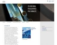 Bild Webseite Körber Hamburg