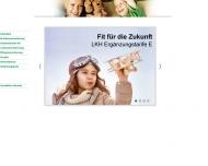 Bild Webseite LKH Landeskrankenhilfe Kranken- und Lebensversicherungen Hamburg
