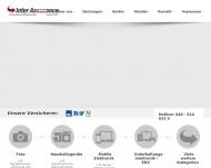 Bild Webseite Inter Assurance Int. Versicherungsmakler Hamburg
