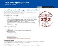 Bild Webseite Detlef Karl-Heinz Versicherungen Hamburg